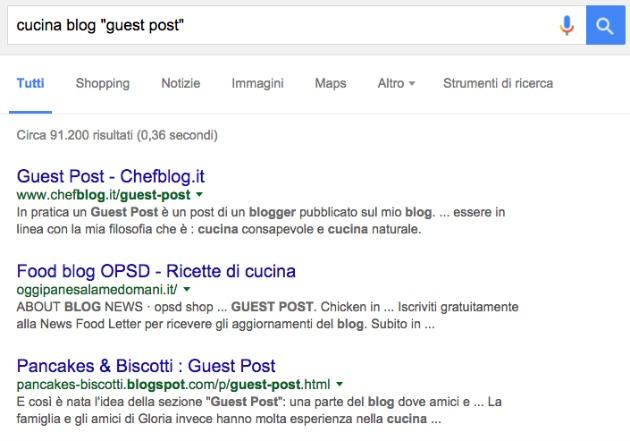 guest blogging italia