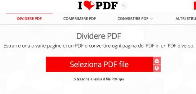 dividere pdf