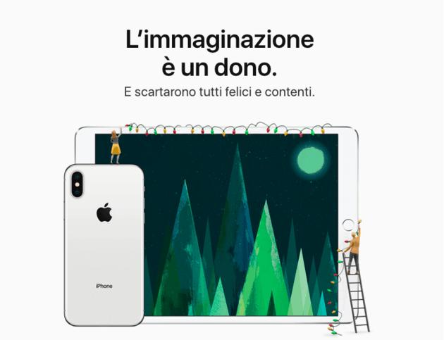 pubblicità apple