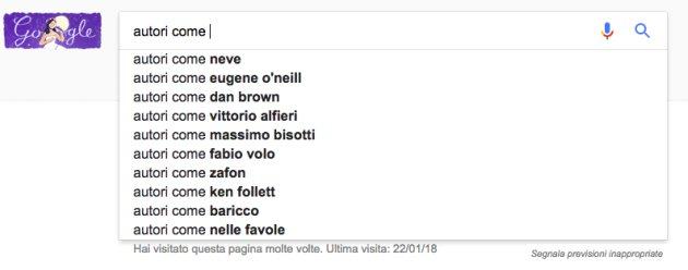 correlate google