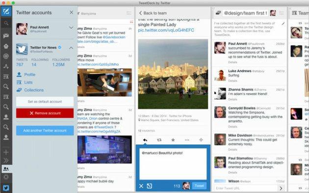 dashboard tweetdeck
