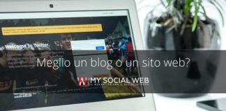 Meglio aprire un blog o un sito web