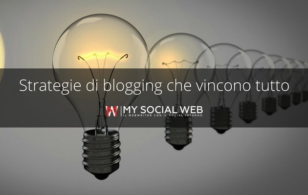 strategie di blogging