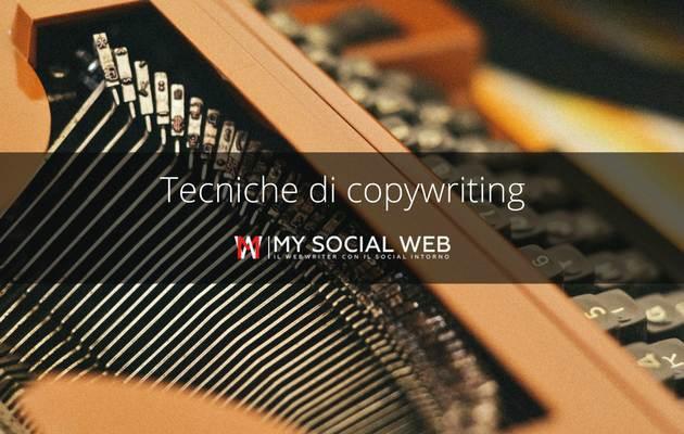 Tecniche di copywriting: come scrivere un testo persuasivo