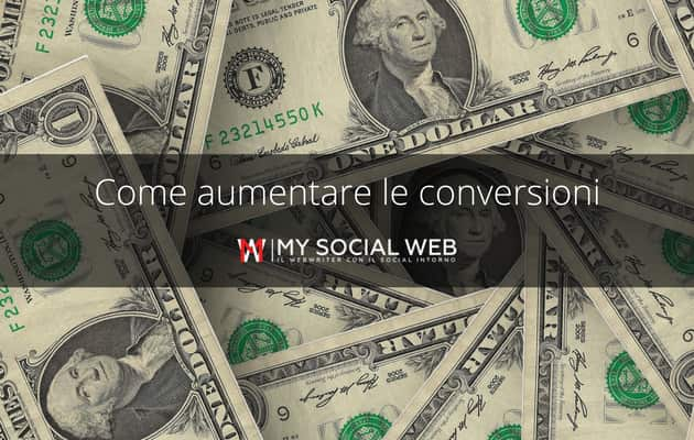 come aumentare le conversioni