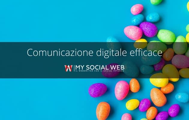 Comunicazione sui social