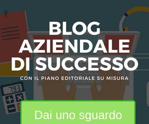 blog aziendale piano editoriale
