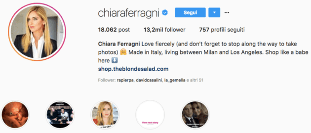 aumentare follower su instagram