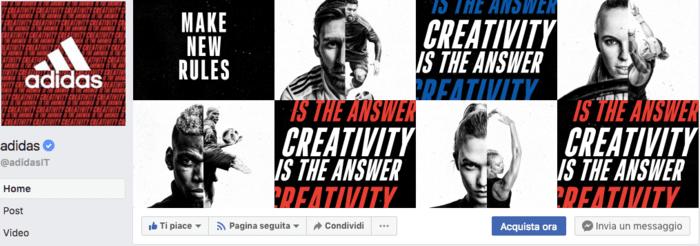 esempio facebook