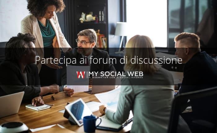 forum di discussione su internet