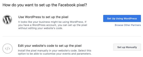 Come installare il pixel su WordPress