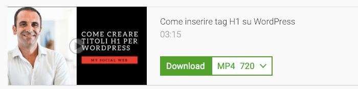 app per scaricare videi da youtube