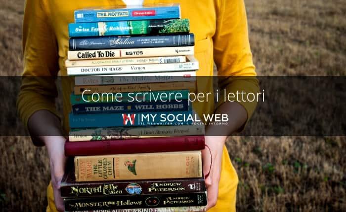 scrivere per i lettori