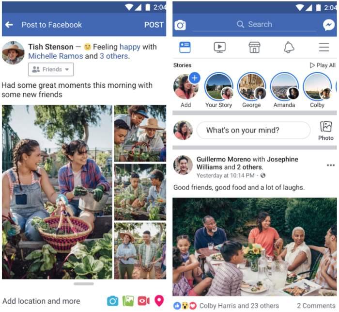 Come aprire una pagina Facebook dal cellulare
