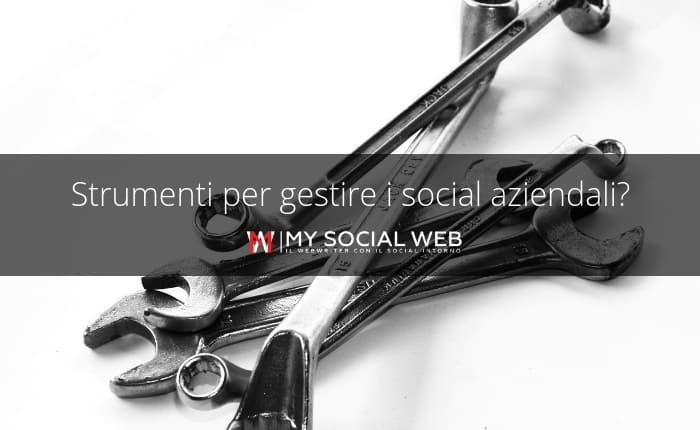 gestione profili social aziendali