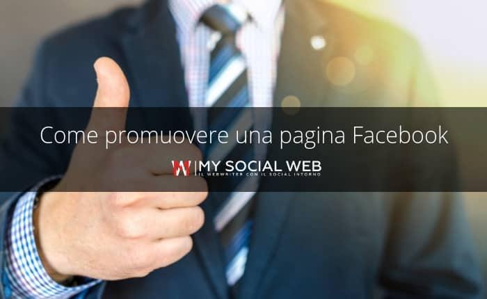 come promuovere una pagina Facebook