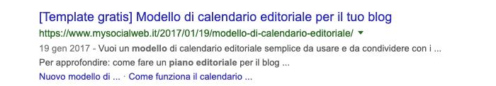 Modello Piano Editoriale