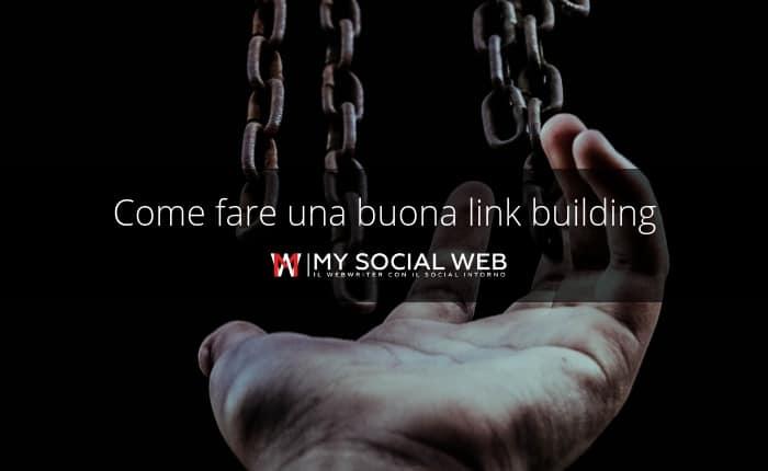 strategia di link building
