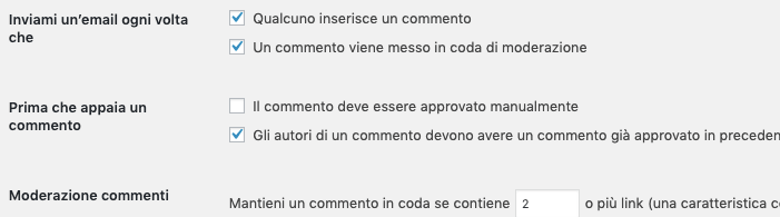 commenti spam wordpress