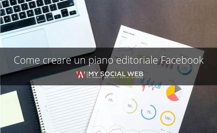 piano editoriale Facebook