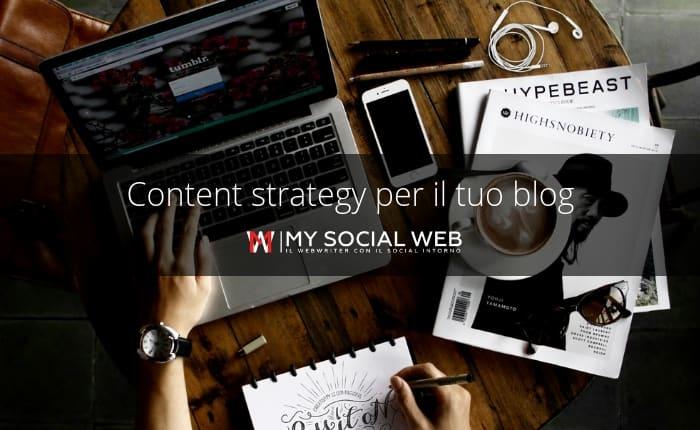 content strategy per blog