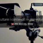 contenuti multimediali del blog