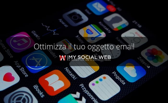 oggetto email