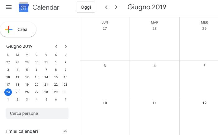 creare calendario editoriale