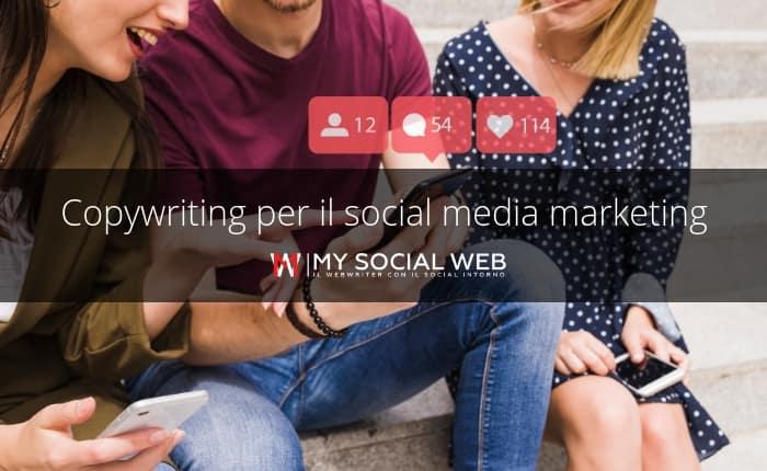 copywriting per social media