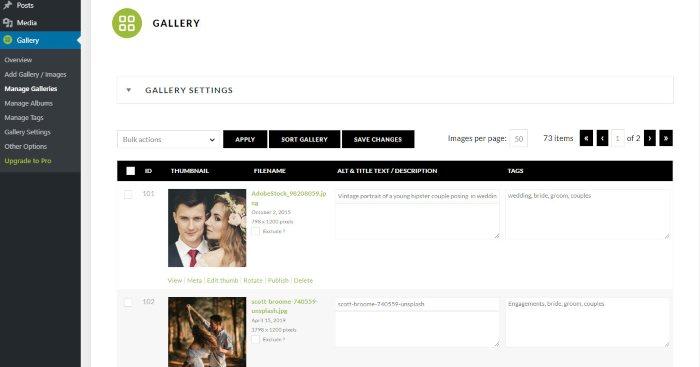 Come creare galleria di foto e immagini