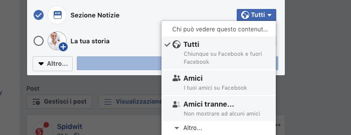 immagini e foto, migliorare la privacy su facebook