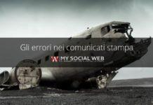 errori comunicato