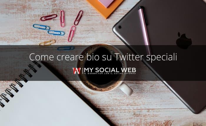 come scrivere una bio per Twitter