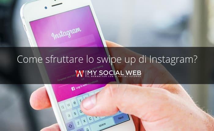 swipe up su Instagram