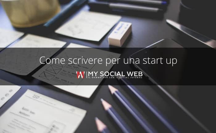 Copywriter per startup