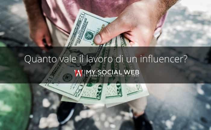 Quanto costa un influencer su Instagram