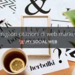 citazioni sul web marketing