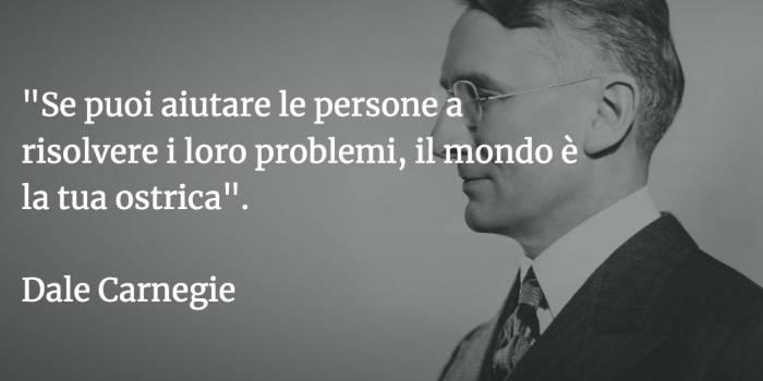 Dale Carnegie - citazioni sul web marketing