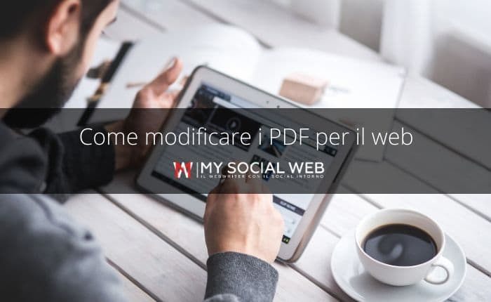 come modificare i pdf