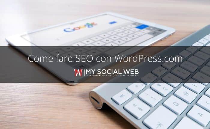 Come fare SEO su WordPress.com