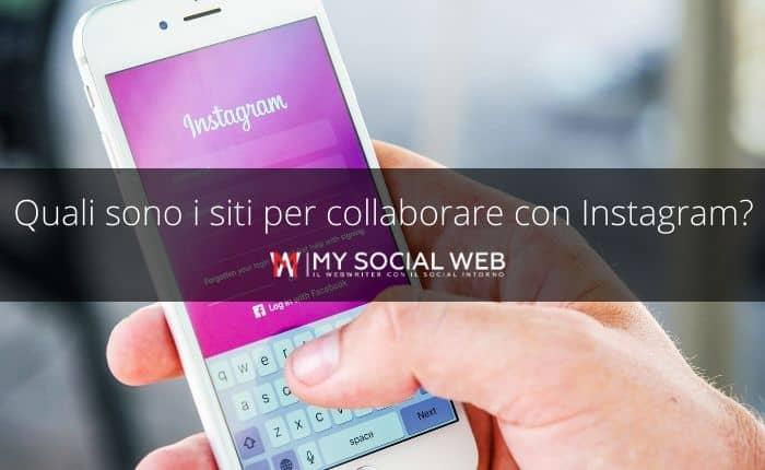trovare siti per collaborazioni su Instagram