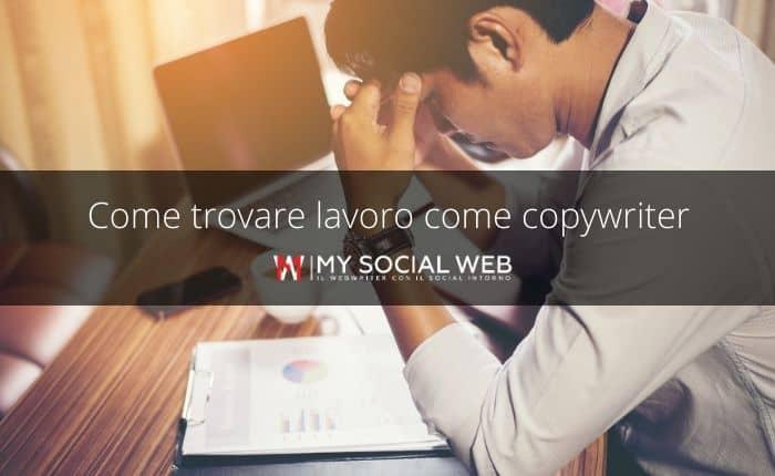 Come trovare lavoro come copywriter