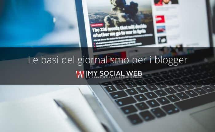 basi del giornalismo