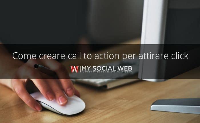 come si scrive una chiamata all'azione