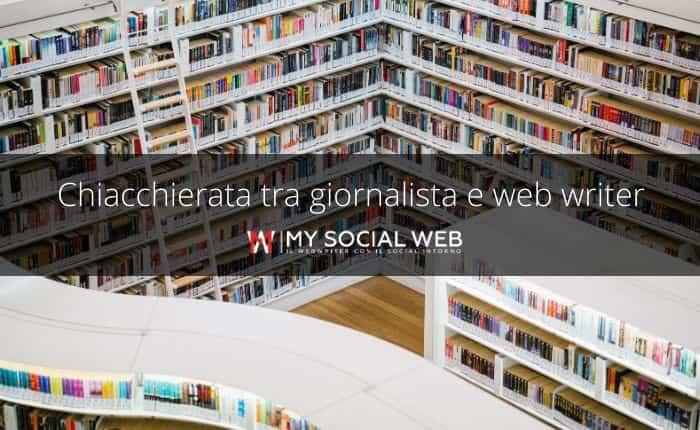 giornalista e web writer