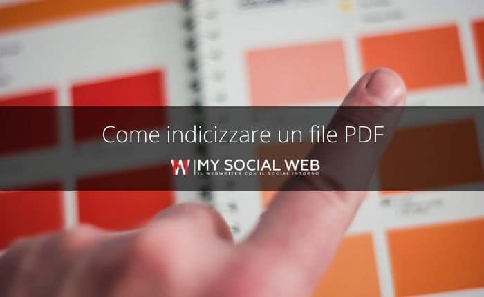 come indicizzare PDF su Google