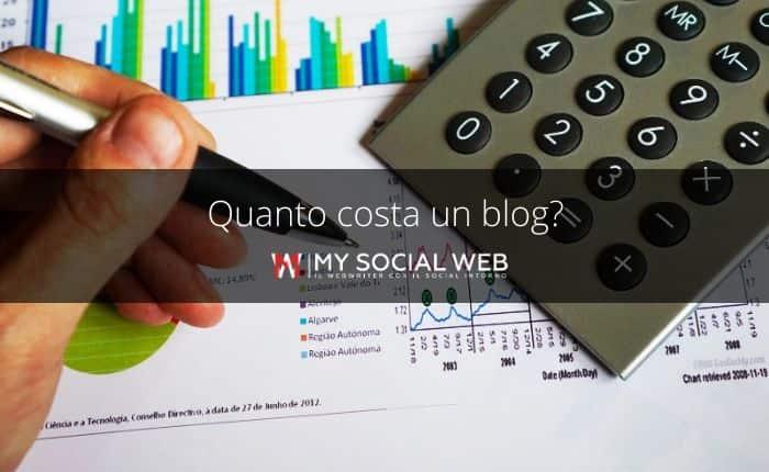Quanto costa un blog?