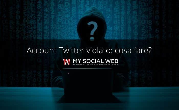 Account twitter hackerato
