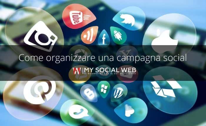 come organizzare una campagna social