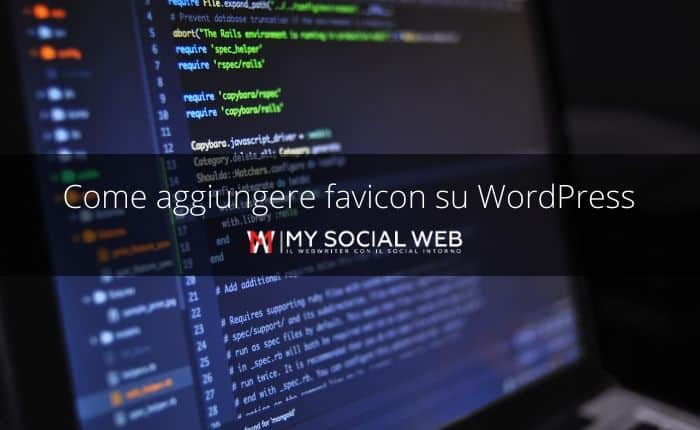 come inserire favicon su wordpress